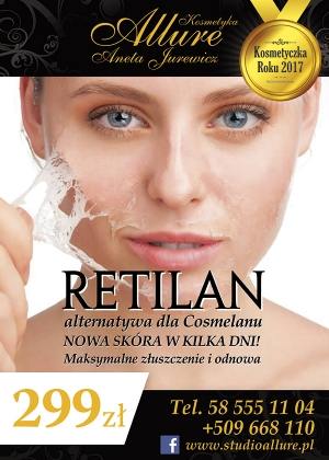 Retilan- alternatywa dla Cosmelanu